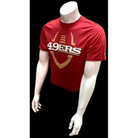 Nike Dri Fit Men's San Francisco 49ers Red T Shirt